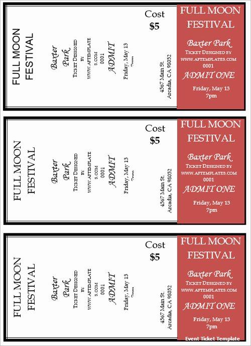 Free Movie Ticket Template Unique 36 Printable Movie Ticket Templates Free Psd Pdf Excel