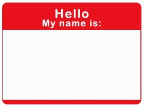 Free Name Badge Template Lovely Template for Name Badges Citigraphics