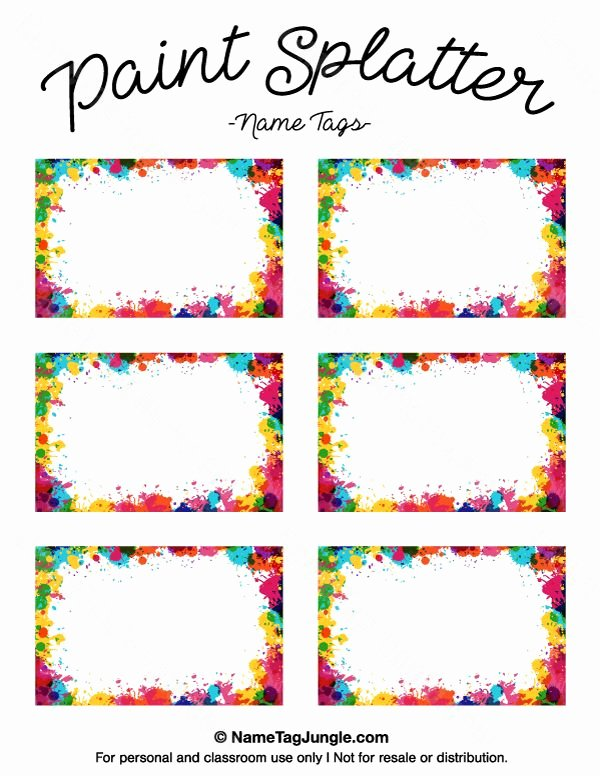 Free Name Badge Template New Pin by Muse Printables On Name Tags at Nametagjungle