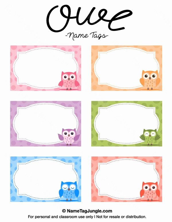 Free Name Tag Template Lovely 25 Best Ideas About Printable Name Tags On Pinterest