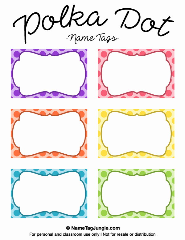 Free Name Tag Template Unique Pin by Muse Printables On Name Tags at Nametagjungle