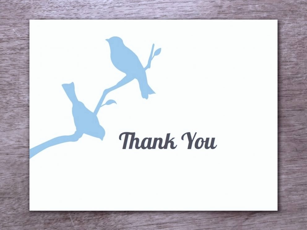 Free Note Card Template Beautiful Free Printable Thank You Card Template for All