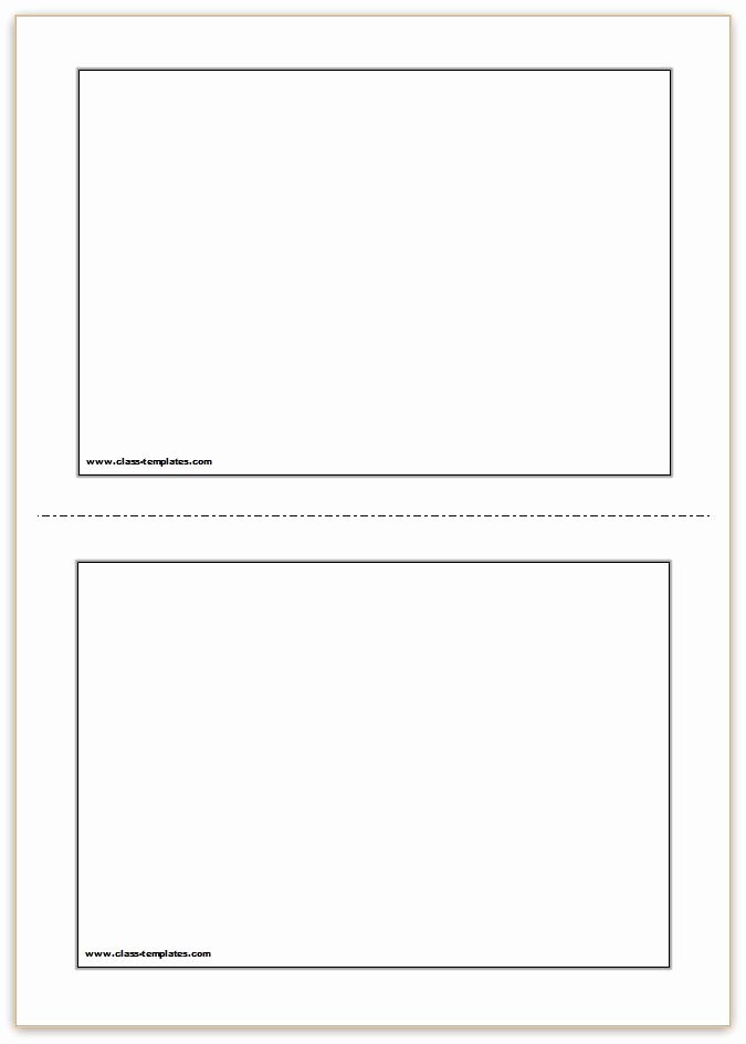 Free Note Card Template Elegant Free Printable Flash Cards Template