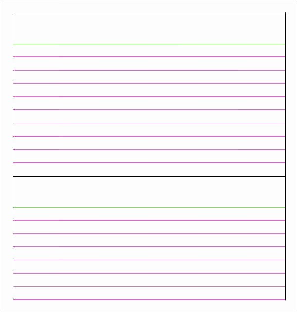 free blank note card template