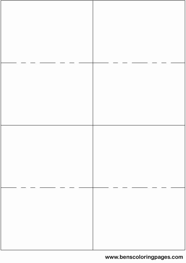 Free Note Card Template Lovely Printable Small Flashcard Template