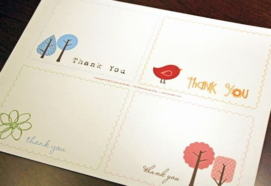 Free Note Card Template New 25 Beautiful Printable Thank You Card Templates Xdesigns