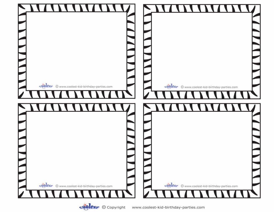 Free Note Card Template Unique 7 Best Of Blank Printable Game Cards Blank Game