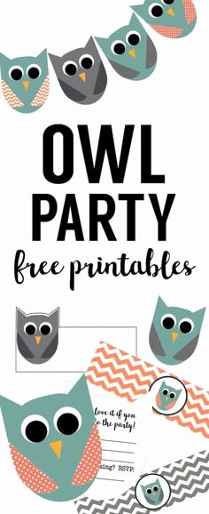 Free Owl Invitation Template Beautiful Free Diy Customizable Owl Invitations Template by