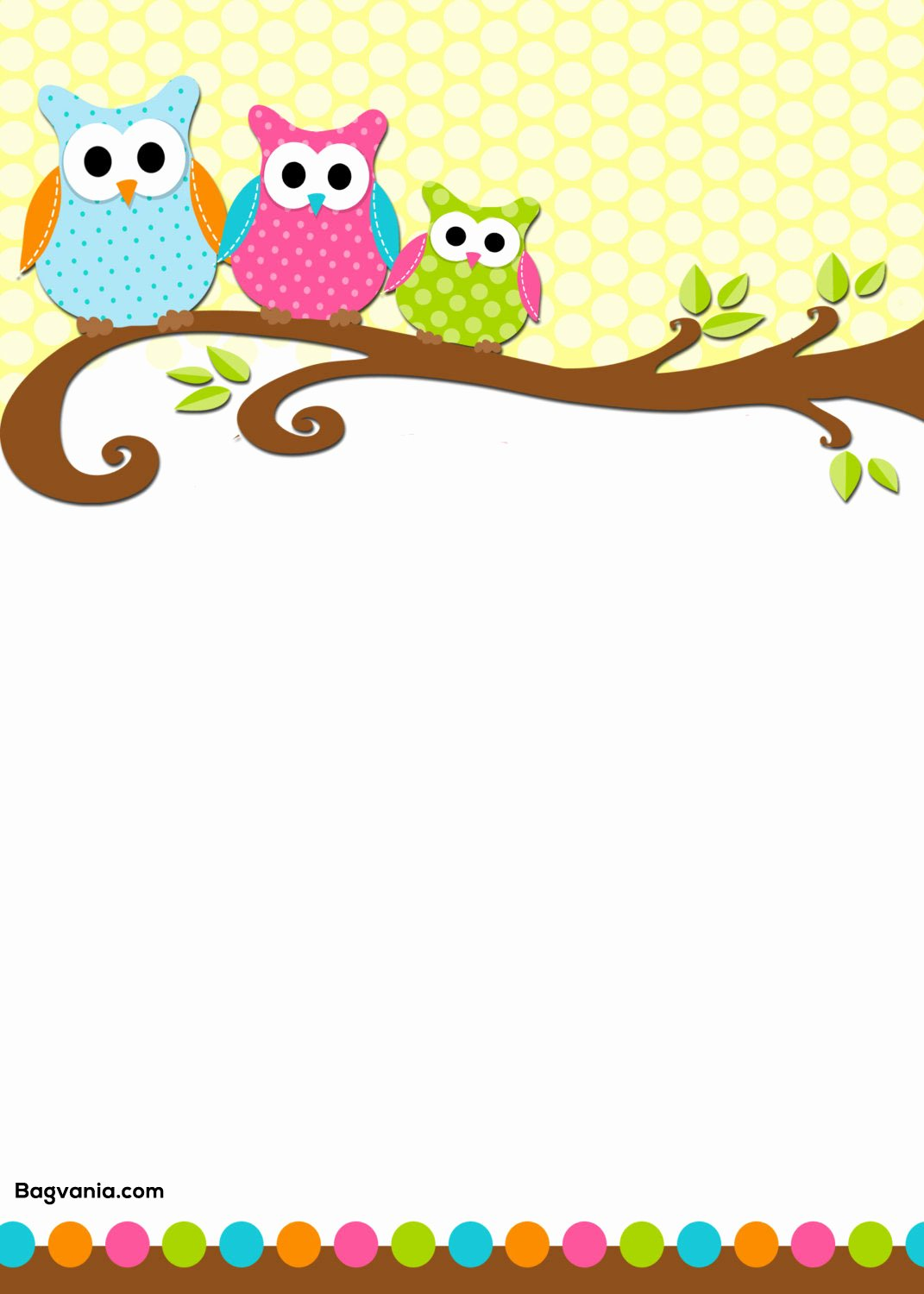Free Owl Invitation Template Inspirational Free Printable Owl Birthday Invitation – Free Printable