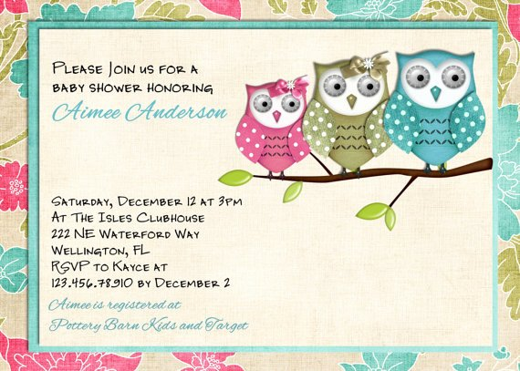 Free Owl Invitation Template Luxury Free Printable Owl Baby Shower Invitations Free Printable