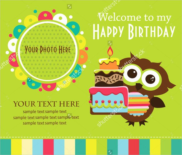 Free Owl Invitation Template New 26 Birthday Invitation Templates – Psd Ai Word