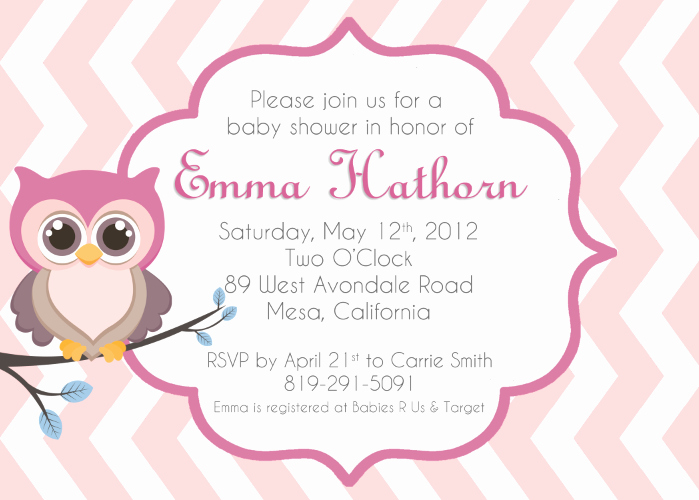 Free Owl Invitation Template New Baby Owl Invitations Clipart Clipart Suggest
