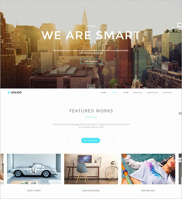 Free Parallax Website Template Awesome 32 Parallax Website themes & Templates