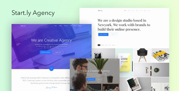 Free Parallax Website Template Best Of Parallax Website Template Marketing Startly Agency One