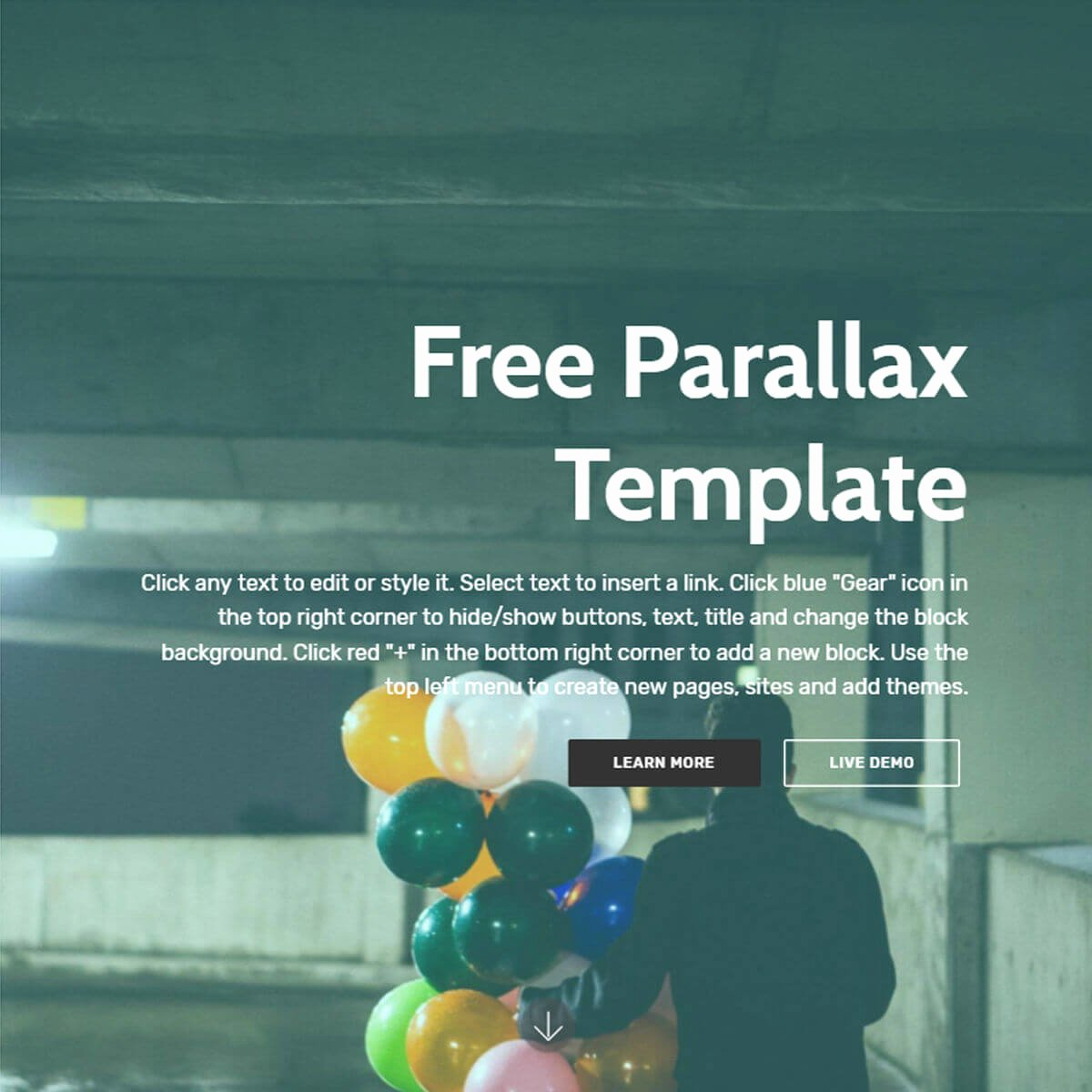Free Parallax Website Template Elegant Free Bootstrap Template 2018