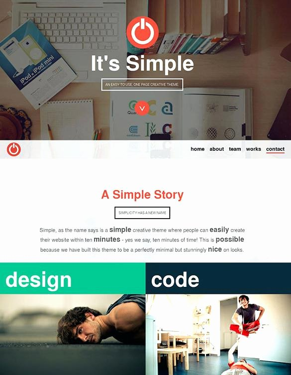 Free Parallax Website Template Fresh Easy E Page Parallax Responsive Template Single Scroll