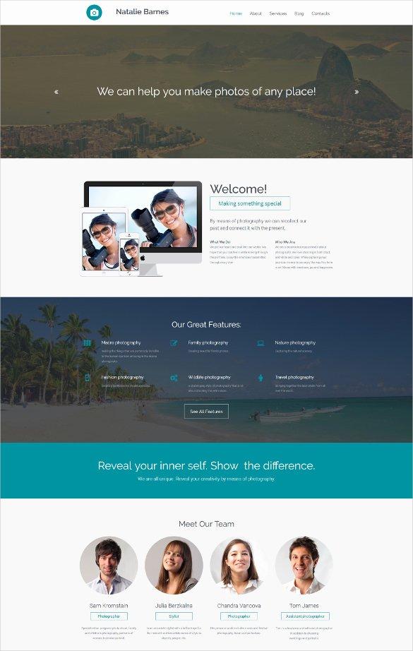 Free Parallax Website Template Inspirational 30 Best Parallax HTML5 Templates
