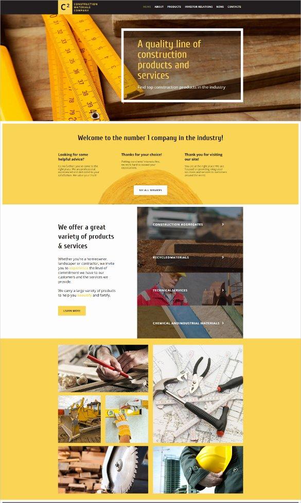 Free Parallax Website Template Lovely 30 Best Parallax HTML5 Templates