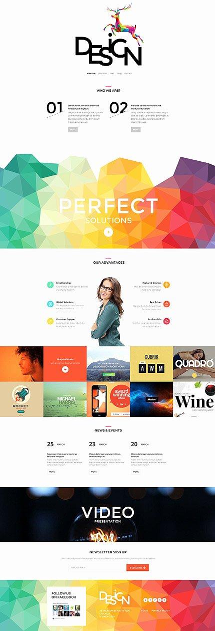 Free Parallax Website Template Luxury Creative Parallax Scrolling Website Templates Of 2015