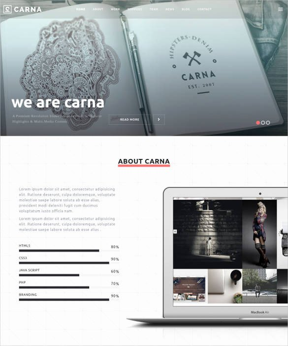 Free Parallax Website Template Unique 32 Parallax Website themes & Templates