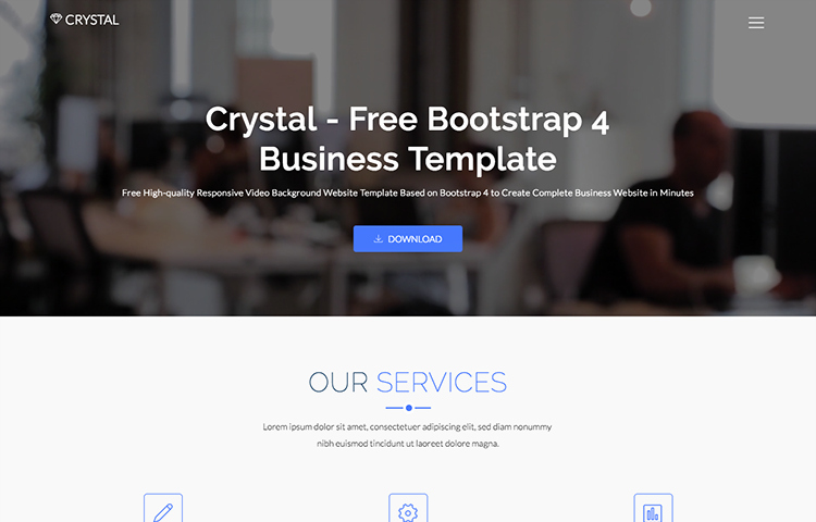 Free Parallax Website Template Unique Free Bootstrap Parallax Website Template Popteenus