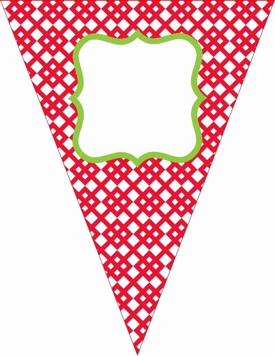 Free Pennant Banner Template Best Of Free Contemporary Happy Birthday Pennant Banner