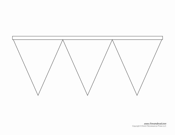 Free Pennant Banner Template Best Of Printable Pennant Banner Template & Triangle Banner Templates