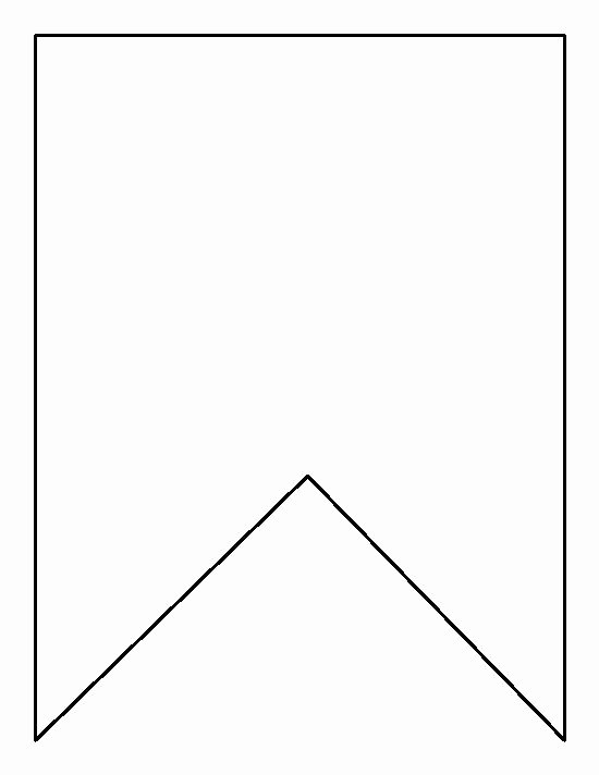Free Pennant Banner Template Inspirational Square Bunting Pattern Use the Printable Outline for