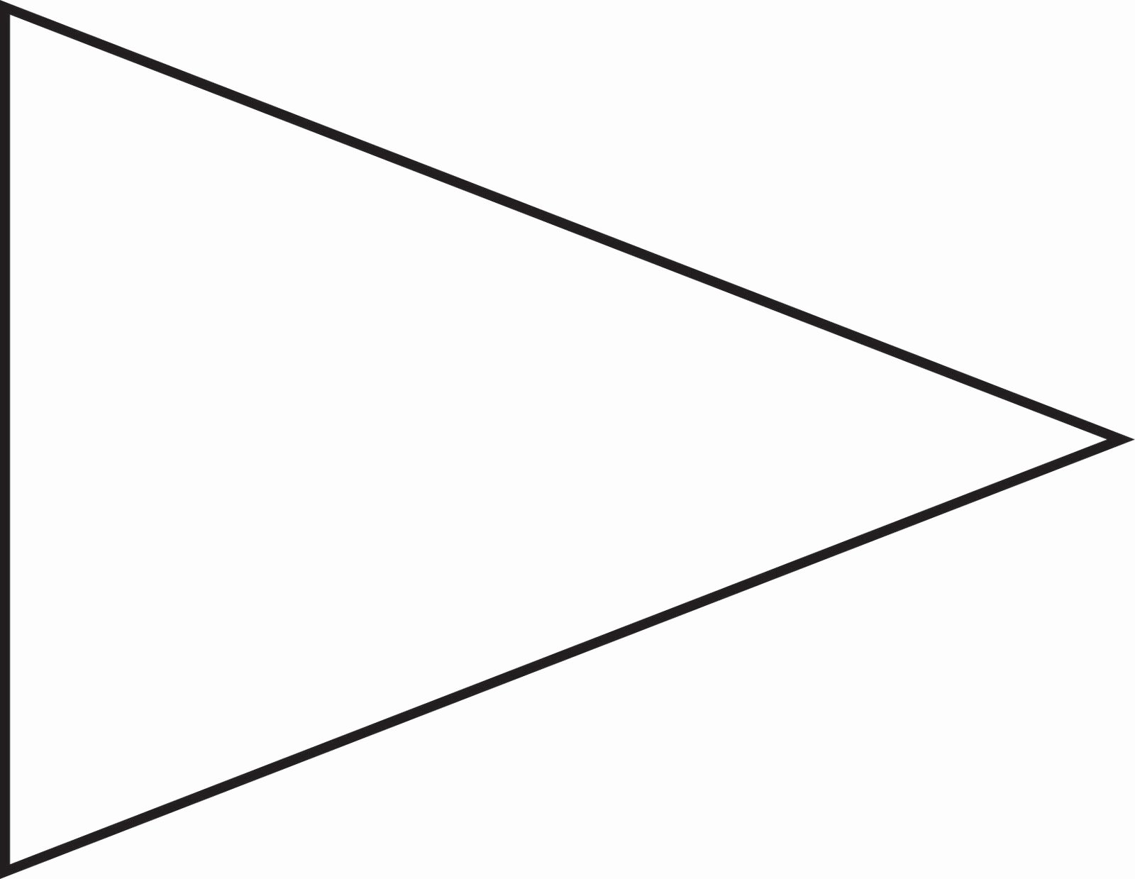 Free Pennant Banner Template New College Pennant Banner Template