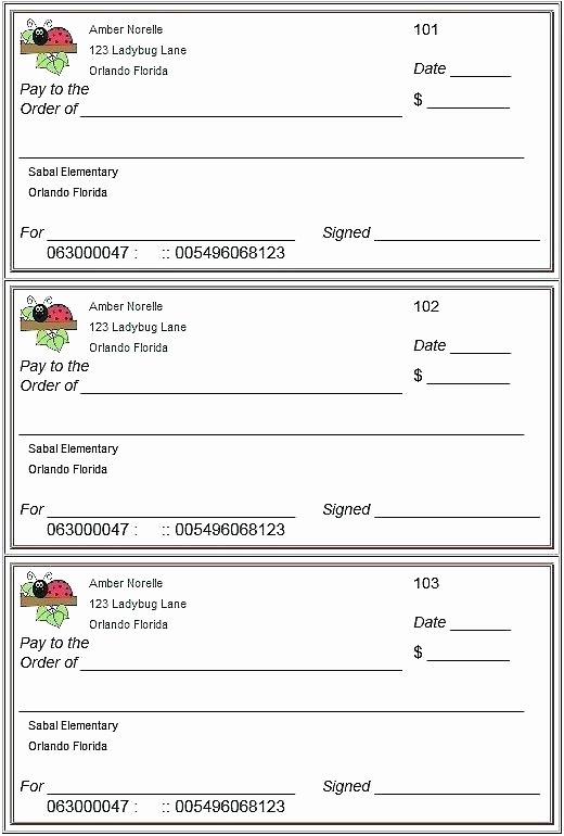 Free Personal Check Template Elegant Blank Check Template Free Word Vector Novelty Cheque