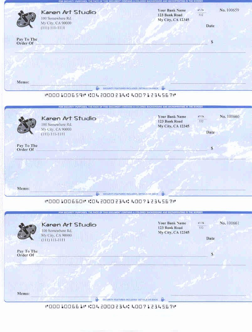 Free Personal Check Template Fresh Easy to Use Check Writing and Printing software Free