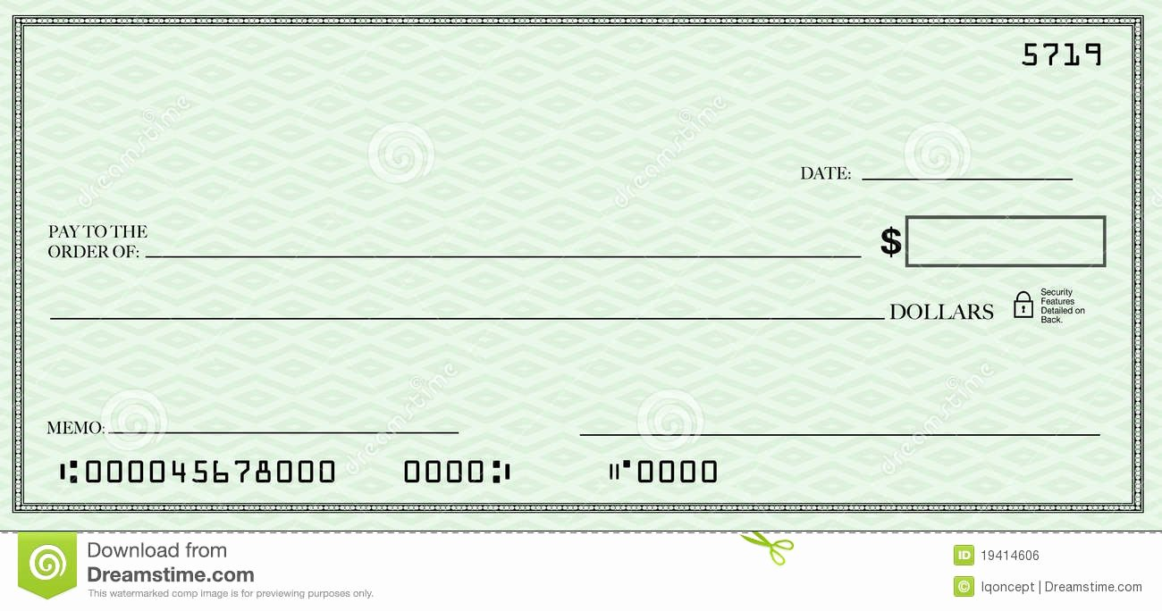 Free Personal Check Template Inspirational Blank Check Clipart