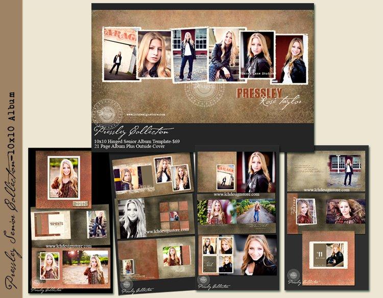 Free Photo Album Template Elegant Mini Album Template