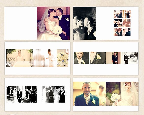 Free Photo Album Template Fresh 41 Wedding Album Templates Psd Vector Eps