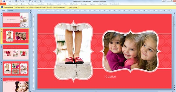 Free Photo Album Template Fresh Free Widescreen Valentine S Day Powerpoint Template