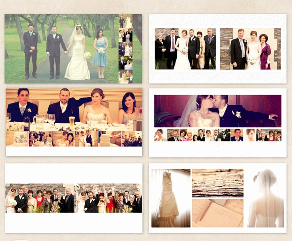 Free Photo Album Template Inspirational 45 Wedding Album Design Templates Psd Ai Indesign