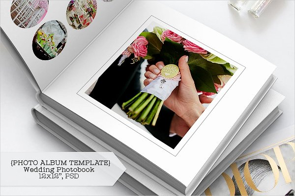 Free Photo Album Template New 19 Wedding Album Designs Free & Premium Download