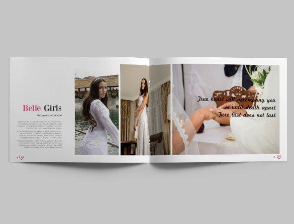 Free Photo Album Template Unique 41 Wedding Album Templates Psd Vector Eps