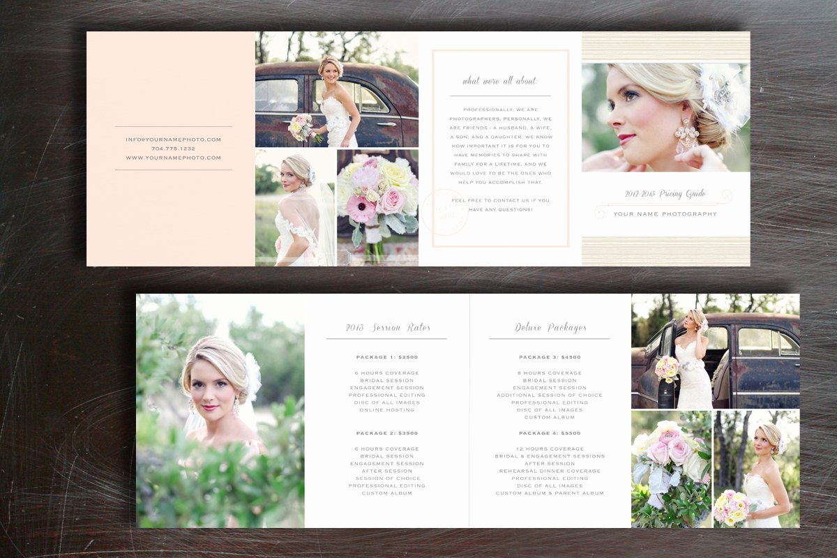 Free Photography Pricing Template Beautiful Wedding Pricing Guide Graphy Price List Template