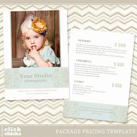 Free Photography Pricing Template Lovely Graphy Package Pricing List Template Price List Price