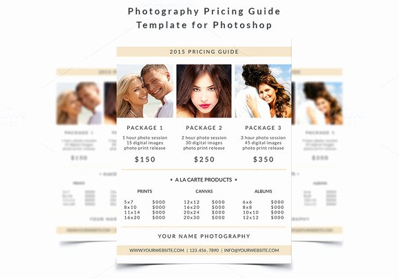 Free Photography Pricing Template New Graphy Marketing Deals that Will Help You Succeed