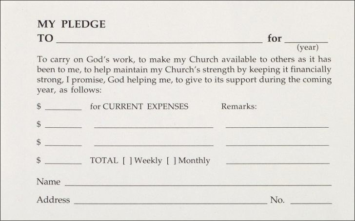 Free Pledge Card Template Elegant Pledge Cards Template Heavy Duty Shelving Cards