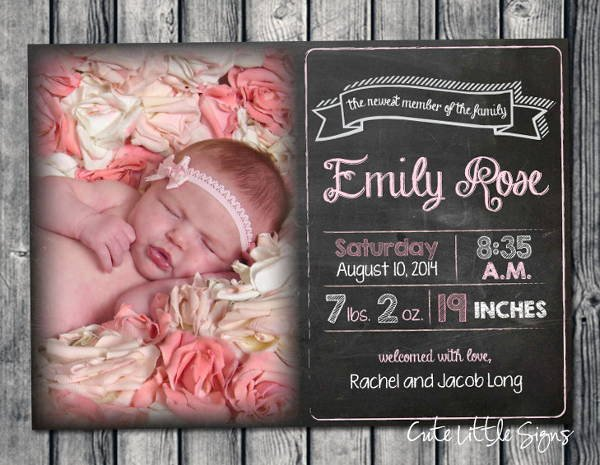 Free Pregnancy Announcement Template Luxury 9 Birth Announcement Templates Printable Psd Ai format