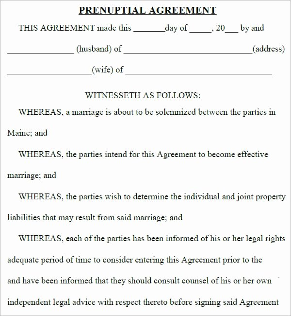 Free Prenup Agreement Template Best Of top 5 Resources to Get Free Prenuptial Agreement Templates