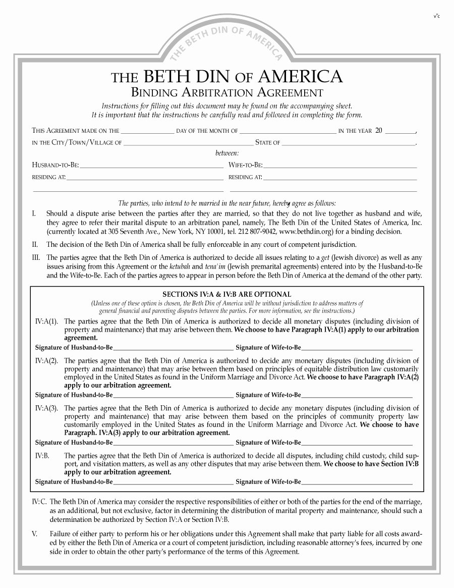 Free Prenup Agreement Template Unique 31 Free Prenuptial Agreement Samples & forms Free