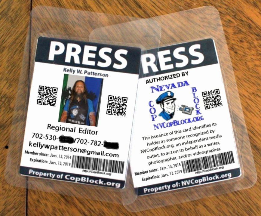 Free Press Pass Template Lovely Happy Belated Third Birthday to Nevada Cop Block