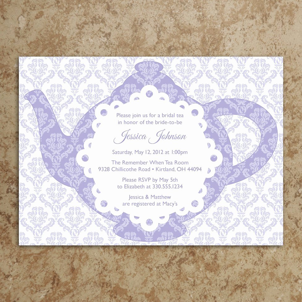 Free Princess Invitation Template Luxury Tea Party Birthday Invitation Wording