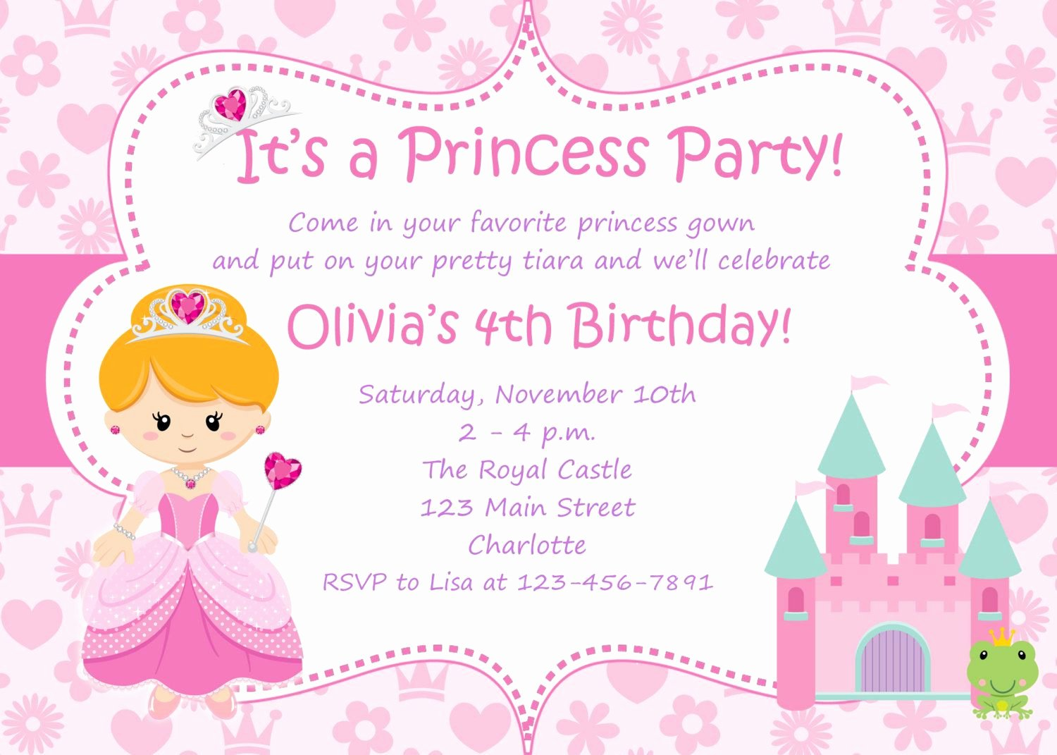 Free Princess Invitation Template Unique Google Image Result for