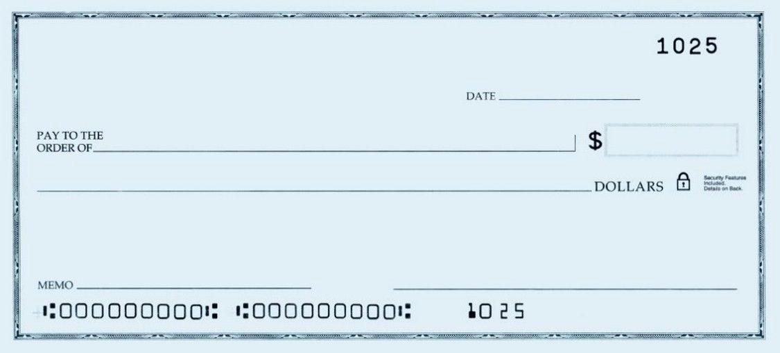 Free Printable Checks Template Elegant Printable Personal Blank Check Template