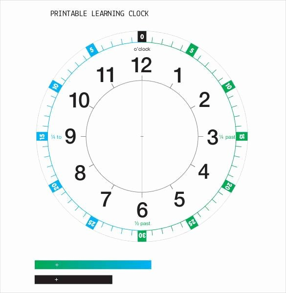 Free Printable Clock Template Elegant 17 Printable Clock Templates Pdf Doc
